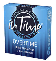 Презервативы in Time OVERTIME