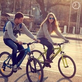 Вовремя покататься на велосипеде!