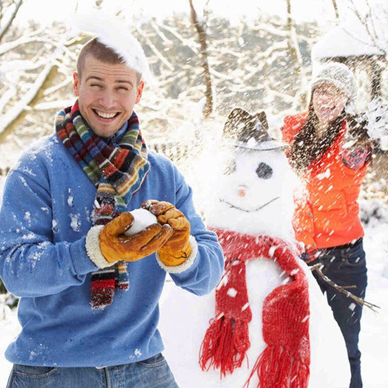 День счастливых снеговиков!
