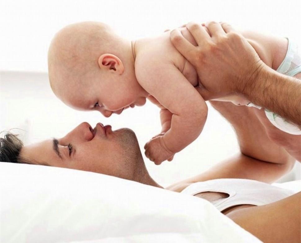 Пол ребенка можно определить по весу отца
