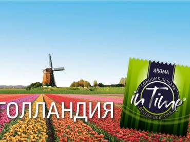 Цветочные поля в Голландии