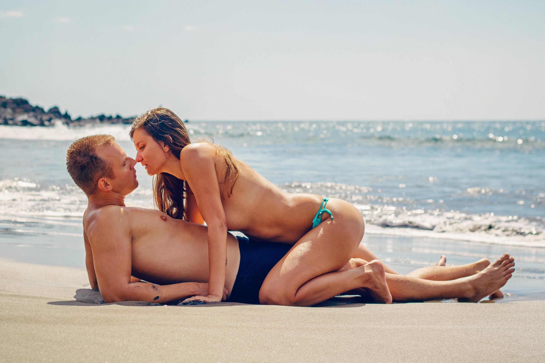 красивое фото секс на пляже