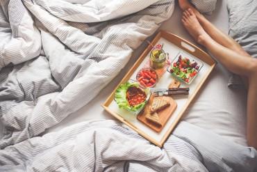 Завтрак после совместной ночи